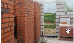 Сочетание различных по плотности стеновых материалов